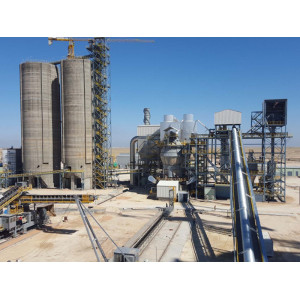 Belt Conveyor In Cement Plant for Conveying Raw Material and Cement Clinker