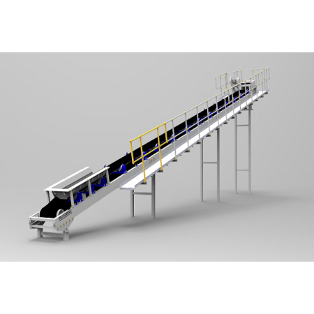 SKE standardized design belt conveyors