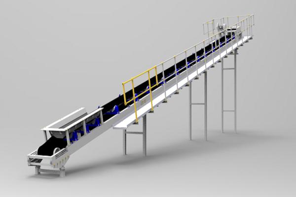Ленточные конвейеры стандартизированной конструкции SKE