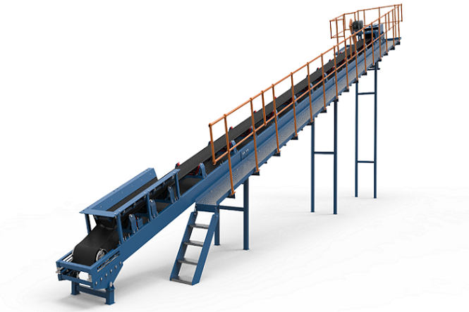 standard design belt conveyor