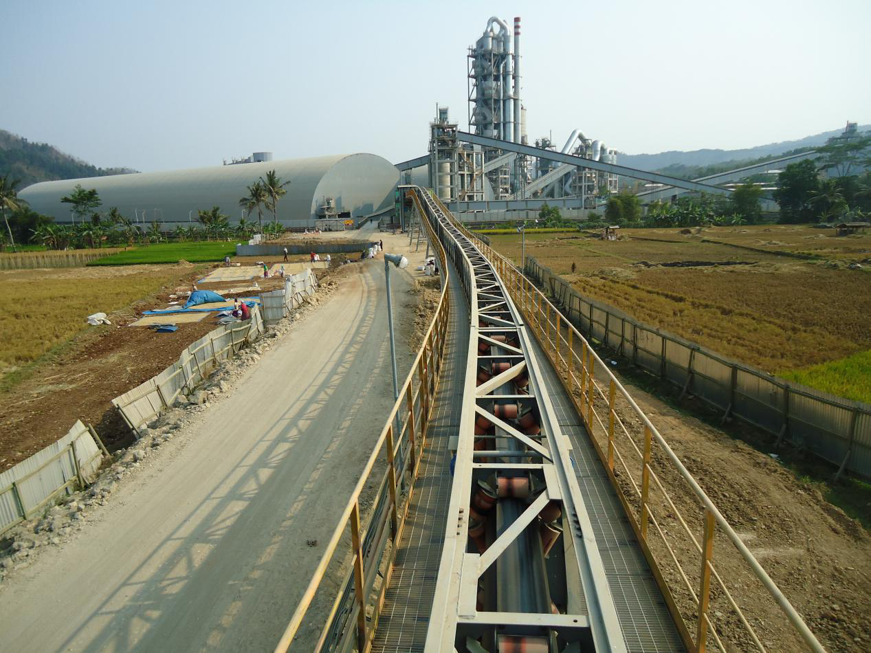 cinta transportadora tubular de tubo China