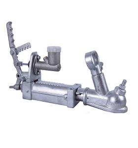 Acoplamiento de remolque de freno hidráulico para barra de remolque de 50 mm