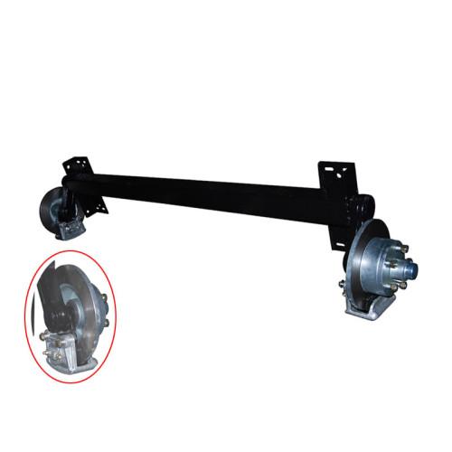 Kit de suspensión de ejes de remolque con barra de torsión de goma con frenos