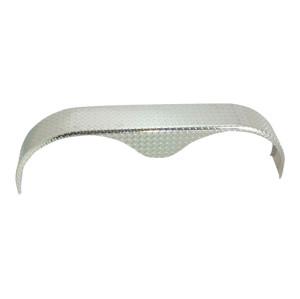 Guardabarros de remolque de doble eje Material de metal o aluminio