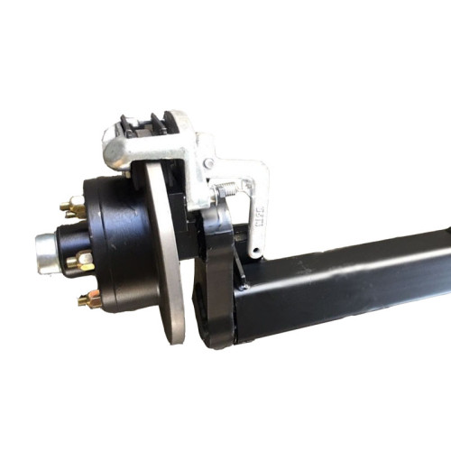 Suspensión de ejes de barra de remolque de torsión galvanizada con freno 3500 LB