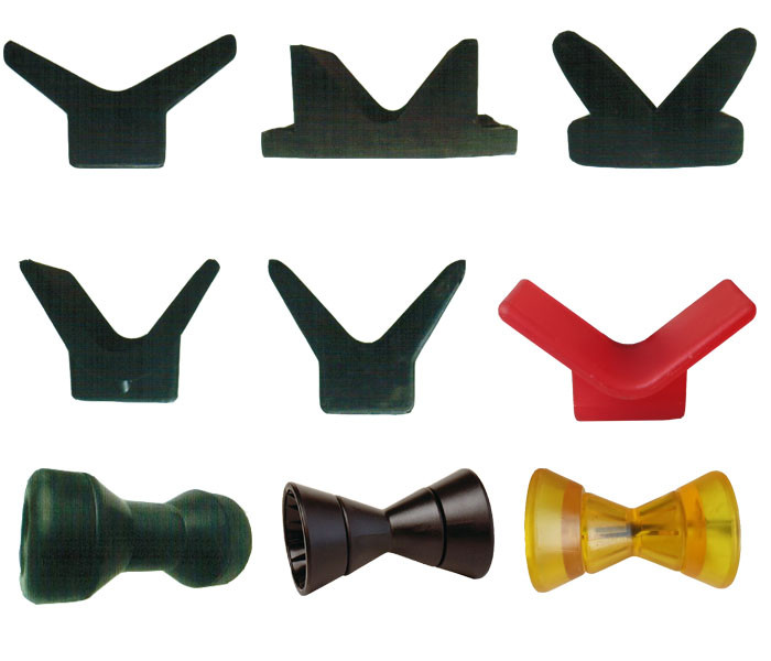 Boat Trailer Bow Stop Roller Rubber