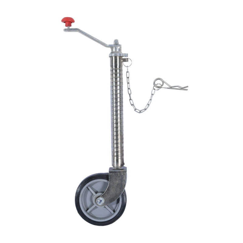 6 Inch Trailer Jack With Wheels Off Road For Caravan
