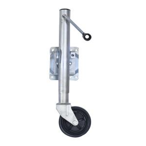 Swivel Jockey Wheel Side Wind For Caravan Heavy Duty