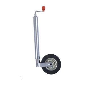 Soporte de rueda jockey de goma pequeño 42 mm