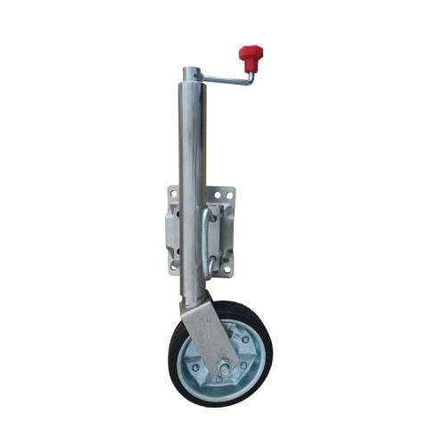 Heavy Duty Trailer Jockey Wheel Assembly With Rubber Wheel