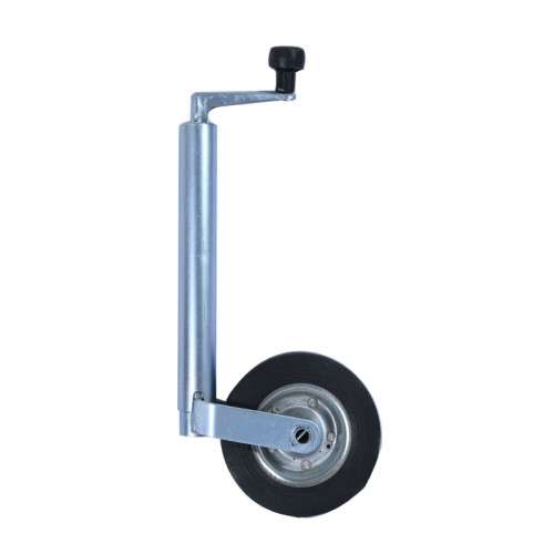 Rubber Jockey Wheel 42mm For Small  Light Duty Trailer