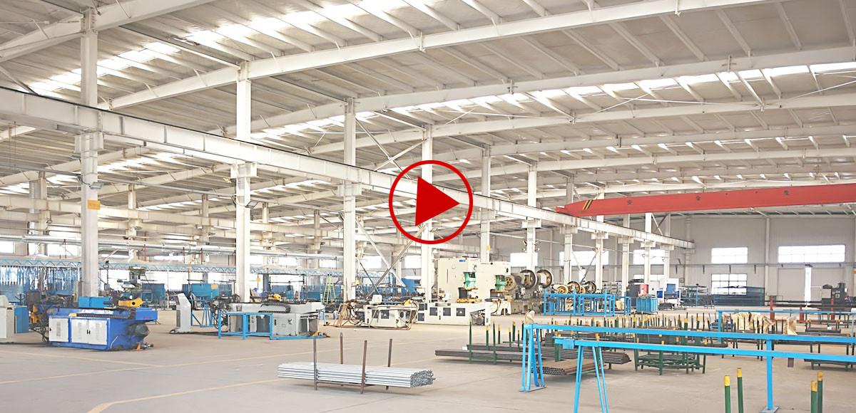 fábrica del fabricante de piezas de remolque