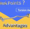 ¿Cuáles son las deficiencias de la suspensión del eje de torsión?