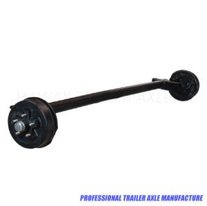 3500 lb Torsion Axle With Electric Brake Suspension