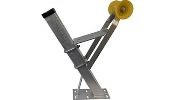 Boat Trailer Winch Stand Assembly