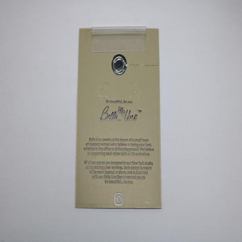 Earrings Studs Fashion Card