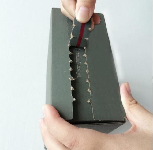 Professional Manufacturer Wholesaler Printed Cardboard Zipper Type Airplane Box