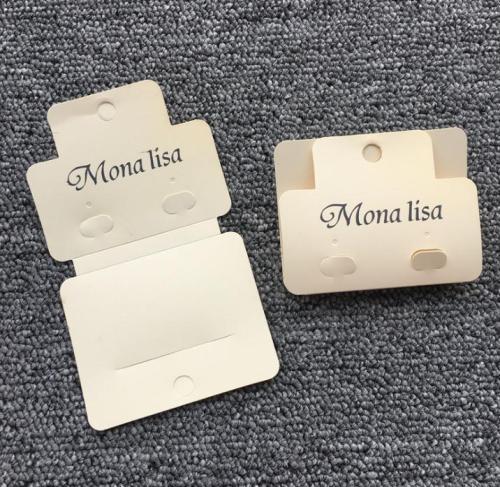 Necklace Bracelet Jewelry Display Cards