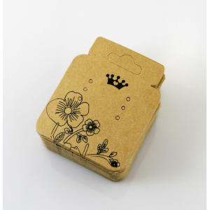 Price Favorable Hanging Jewelry Cards Brown Paper Earring Card