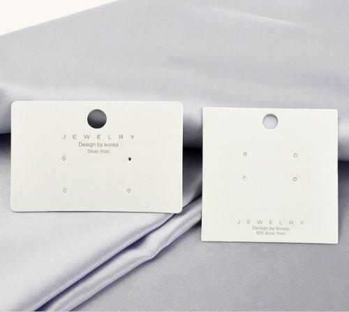 Price Favorable Hanging Jewelry Cards Earring Cards