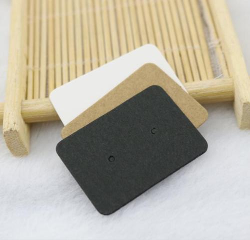 Custom Square Kraft Paper Earring Cards