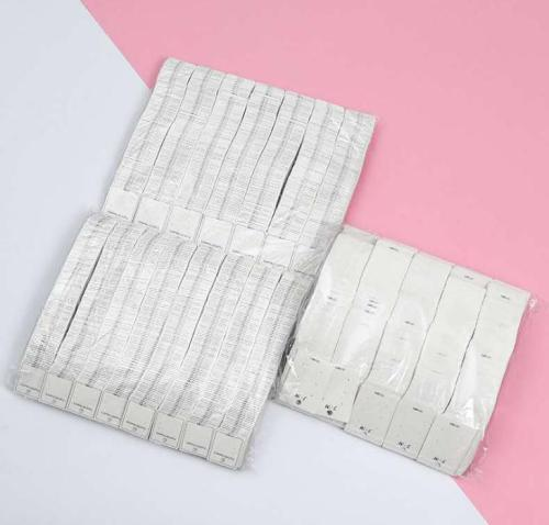 White Square Paper Cards Earring Cards Jewelry Display Cards