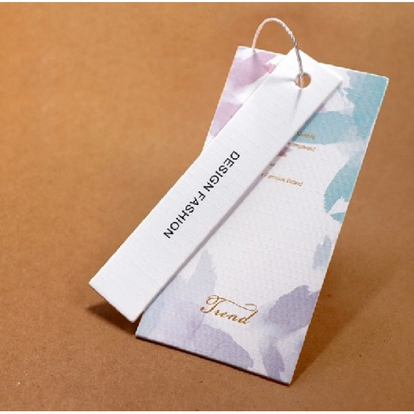 Clothing Packaging Display Brand Label Tag Paper Cards