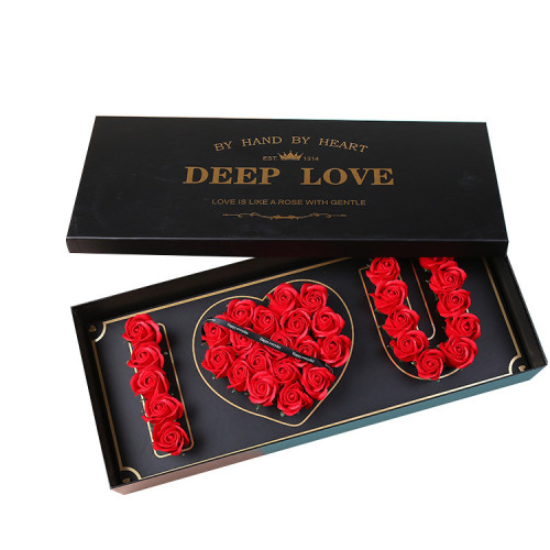 Customized High-End Luxury Valentine's Day Gift Box Packaging Paper Box