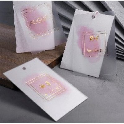 High-End Clothing Cards Printing Paper Cards Wholesale