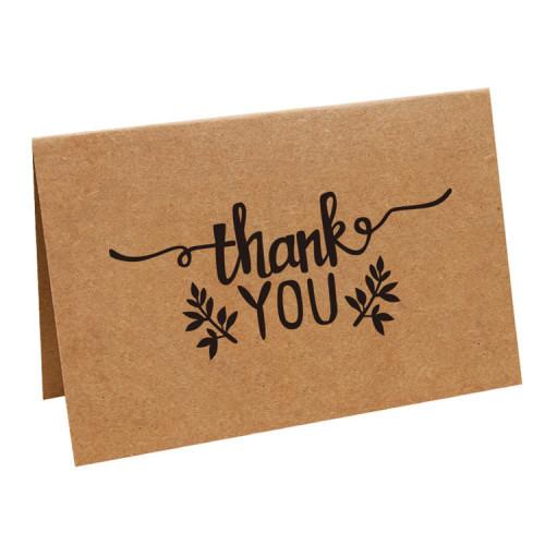 Custom Kraft Paper Greeting Cards