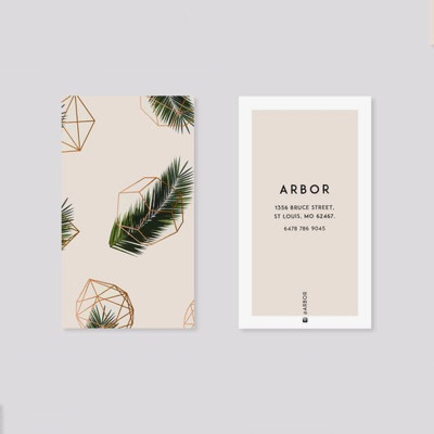Simple Atmospheric Clothing Label Paper Cards Wholesale