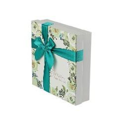 High-End Custom Bow Gift Box Heaven and Earth Cover Box