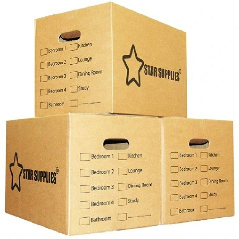Customized Portable Printing Brown Reinforced Corrugated Cardboard Shipping Carton