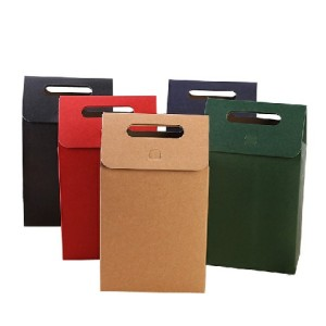 Custom Logo Printing High-End Clothing Retail Bag Packaging Gift Bag Packaging Paper Bag