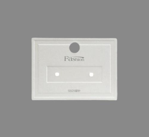 Cardboard Necklace Earrings Jewelry Display Cards