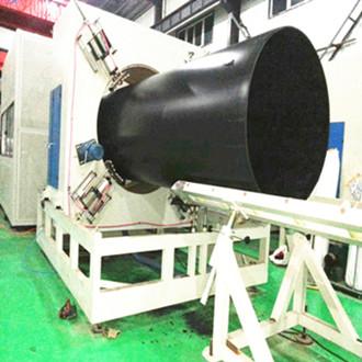 What is your maxium diameter of HDPE Pipe Machine