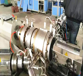 Multi-Layer 3 Layer HDPE Pipe Extrusion Line ABC,ABA structure