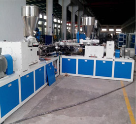 3-Layer Co-extrusion UPVC Pipe Extrusion Line