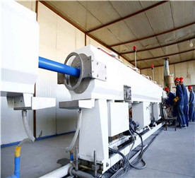PVC-O Pipe Extrusion Line Biaxial Oriented Tension
