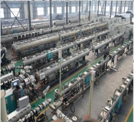 China HDPE Pipe Extrusion Line