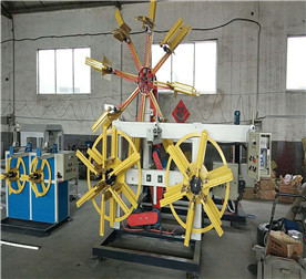 HDPE Pipe Single Station Winder Coiler Machine