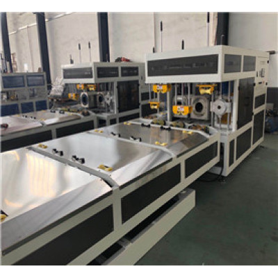 Belling Machine with Two Heating Oven for U-PVC Pipe