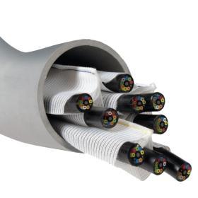 Conducto interno de cable de 3 celdas