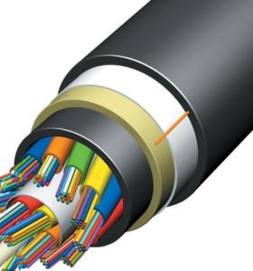 FTTH Outdoor ADSS 24 48 Core ADSS Fiber Optic Cable