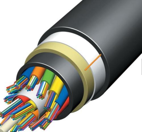 FTTH ADSS 24 Cabo de fibra ótica ADSS de 48 núcleos