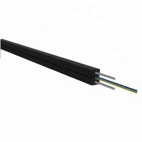 Tubo suelto trenzado al aire libre Cable de fibra óptica monomodo de 12 núcleos