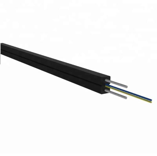 Câble optique de fibre monomode lâche toronné extérieur à 12 tubes