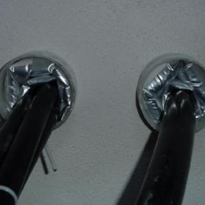 Sistema de sellado de cable inflable