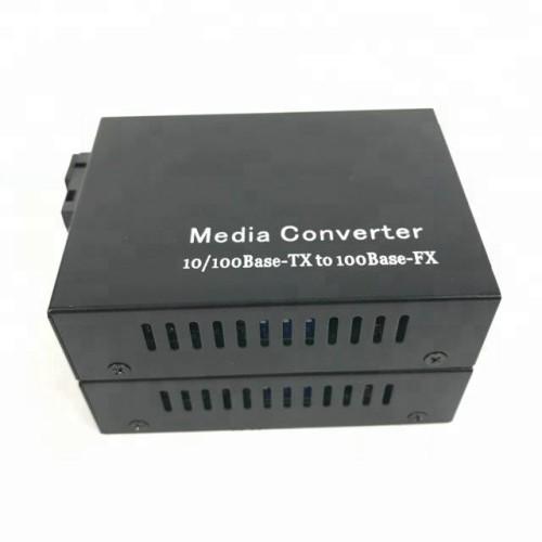 Modo único rápido RJ45 1310 1550nm 20KM