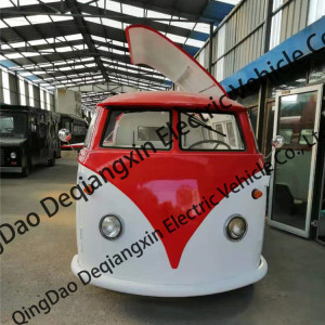 retro food truck volkswagen T1 food cart chinese vintage food truck manufacturer